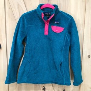 Patagonia Re-Tool Snap-T Fleece Pullover Size 12